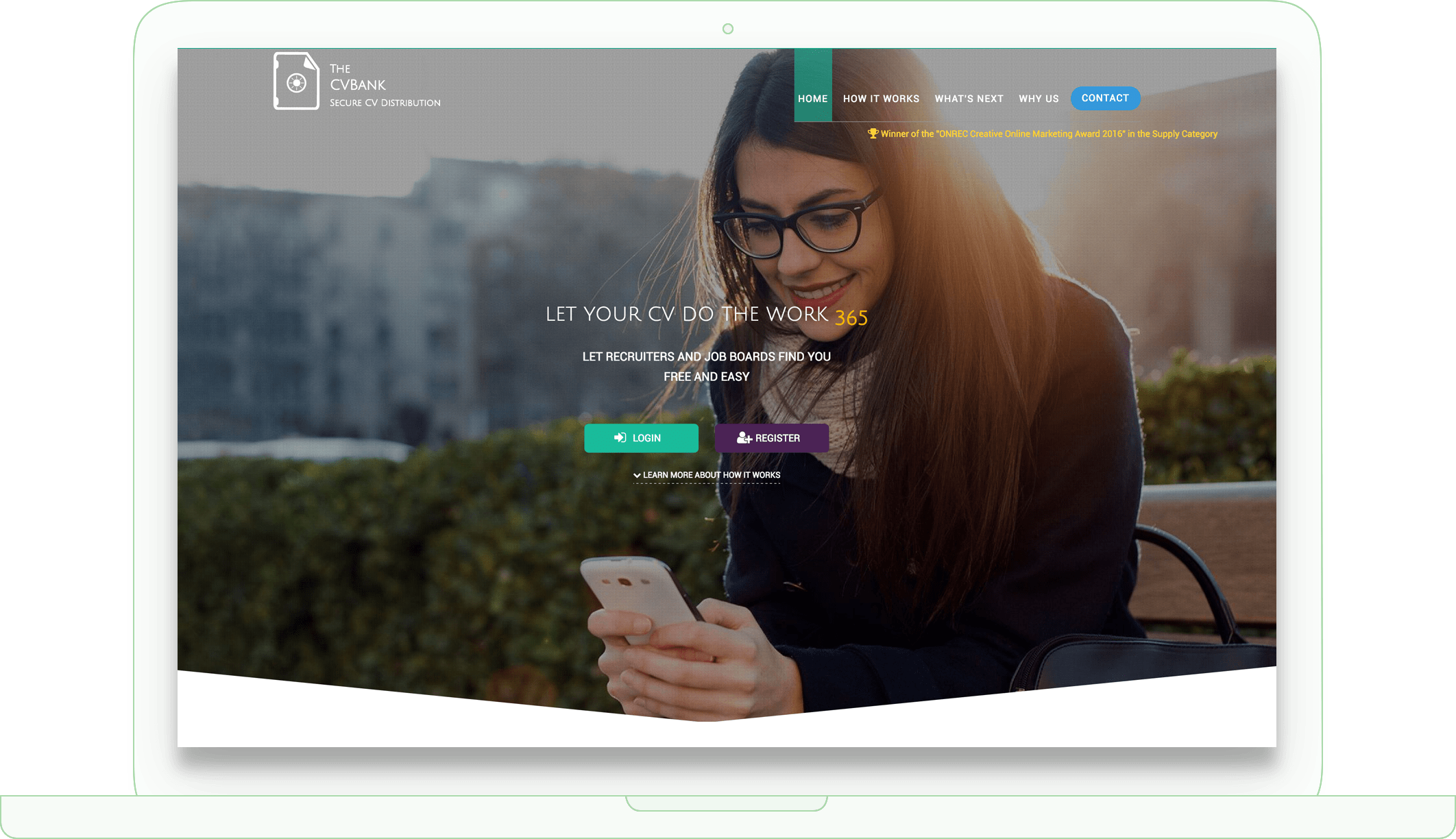 TheCVBank.co.uk frontend design in Tehran Iran